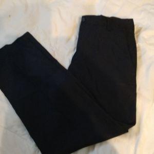 Kenneth Cole Reaction BLK dress pants 32x30